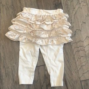 Adorable ruffle fancy toddler pants